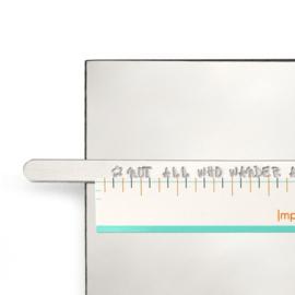 Impress-Art lineaal stickers 36 stuks