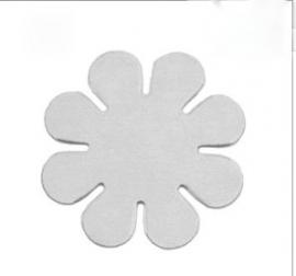 Flower 24 mm alluminium