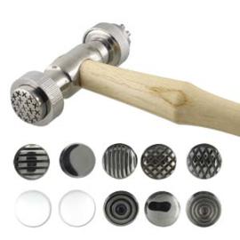 texture hamer met 12 wisselbare kopppen