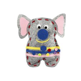 Vilt vriendje Eliot de olifant