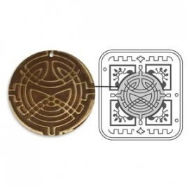 vintaj deco embossing set CELTIC WEAVE