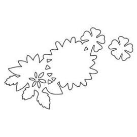 Snijmal necklace floral