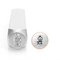Baby stick design stempel 6mm