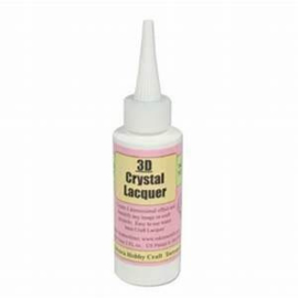3D Crystal Lacquer Clear Glaze 60 Ml