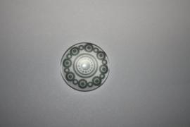 zeeuwse knop grijs 20mm