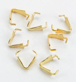 IJspriem aanhechter goud 15 stuks