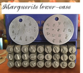 Marguerita lower case