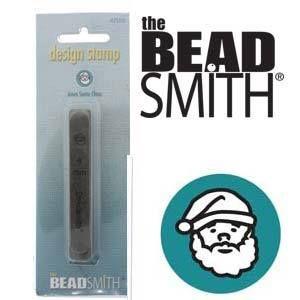 The Beadsmith designstempel - santaclaus 6mm