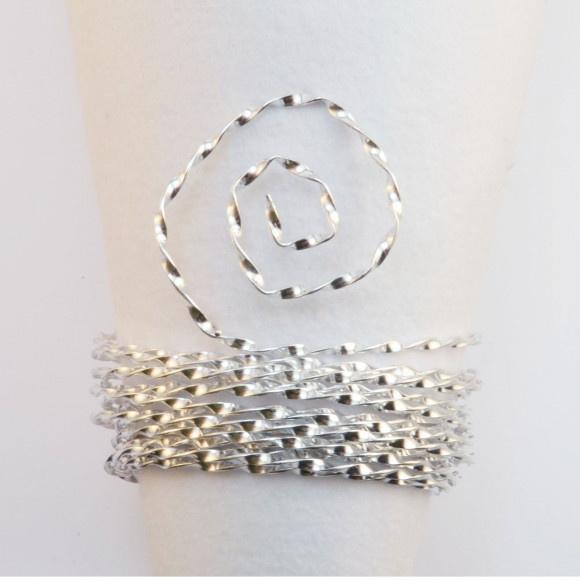 aluminium wire curl