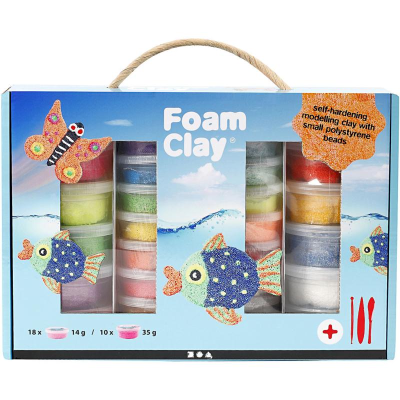Foam Clay® Cadeauset 28 stuks