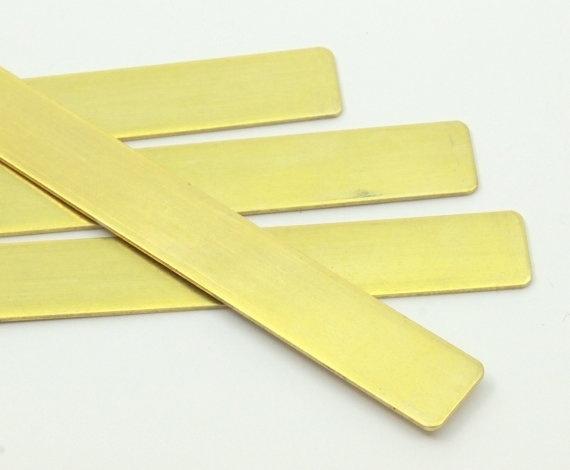 Messing strip 150 x 10 x 1,5mm