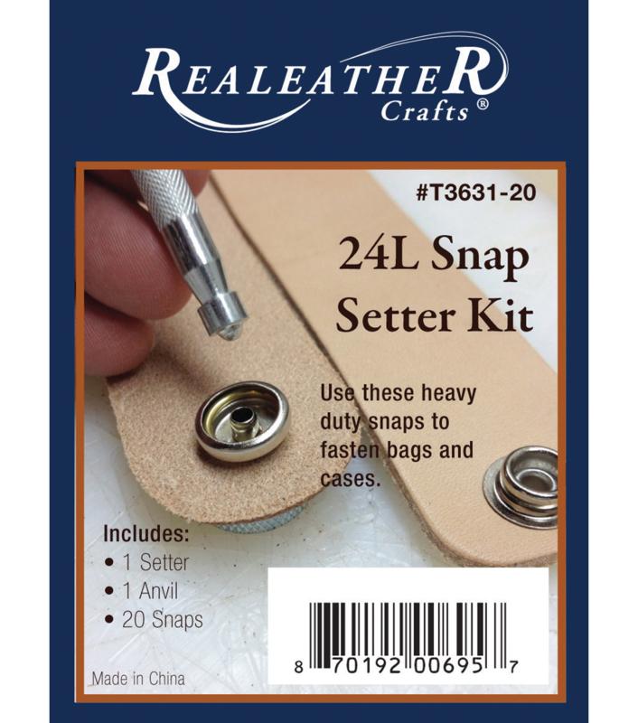 24l snap setter kit