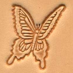 leerstempel vlinder
