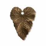 Vintaj Woodland Leaf 18 X 14mm