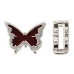 slider vlinder 17x14mm