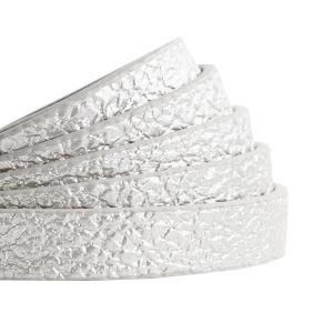 plat koord metallic silver