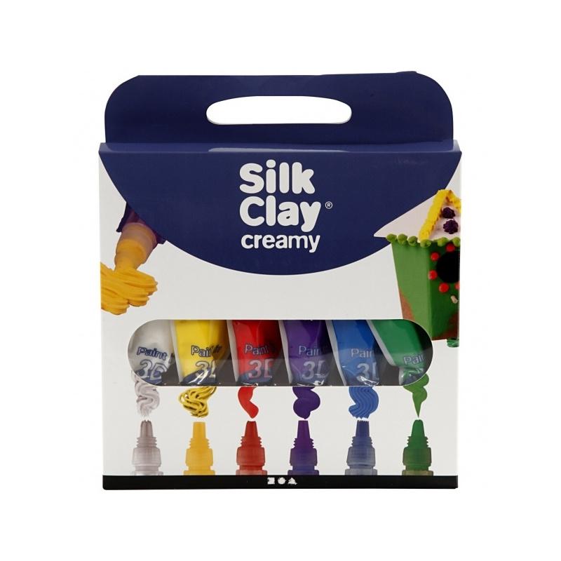 silk clay creamy