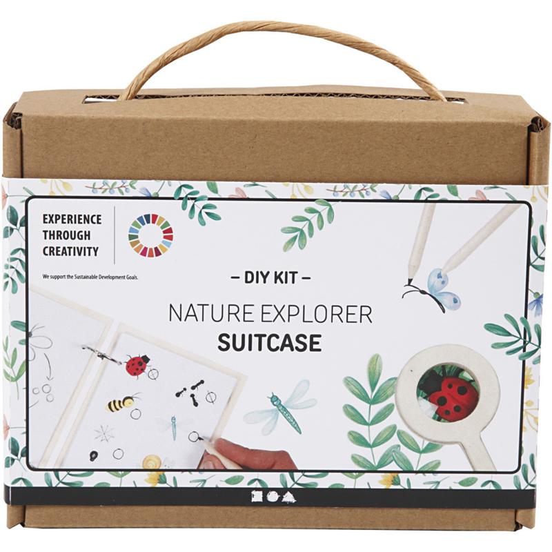 DIY Kit ontdekkingskoffer natuur