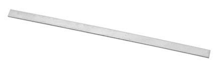 Aluminium strip,  150 x 12 x 1,5mm