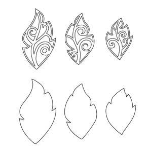 Snijmal leaf 3 pak