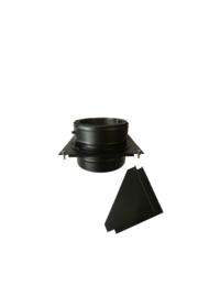Isotube Plus ZWART | Stoelconstructie element  150/200
