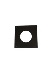 Brandseparatieplaat plat 200 mm ZWART