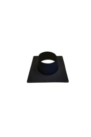 Dakplaat plat 0-10 graden RVS 200 mm ZWART
