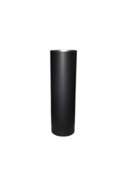Ø110 mm kachelpijp 50 cm zwart