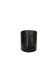 Isotube Plus ZWART | 20 cm brede klemband 200 mm