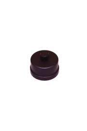 Pelletkachel dop voor T-stuk  ∅ 80mm