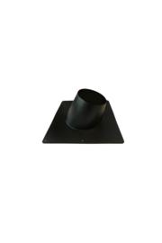Dakplaat hellend 5-25 graden RVS 200 mm ZWART