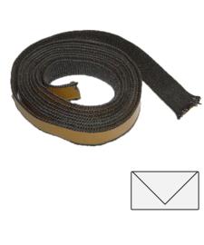 8 x 3 mm zwart plakkoord 3 meter