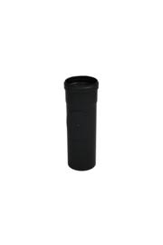 Pelletkachel pijp 25 cm met veegluik ∅ 80mm