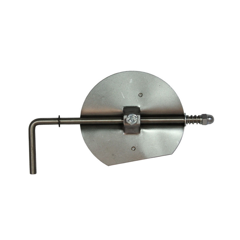 Ø120 mm klepsleutel RVS