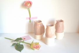 geglazuurd (roze)