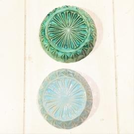 Found Diamond klein blauw (glazuur)