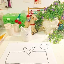 DIY - januari- patroon konijnenpotje
