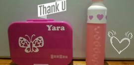 Stickers voor Yara