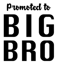 Promoted to BIG BRO