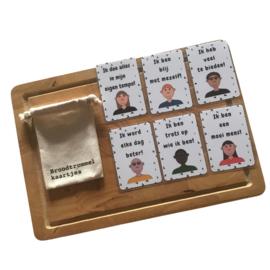 Affirmaties set 2 - Broodtrommelkaartjes