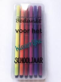 Bedankt voor het kleurrijke schooljaar