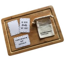 Motivatie - Broodtrommelkaartjes