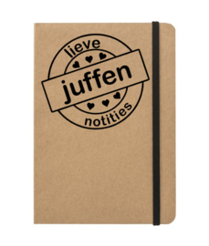 Lieve juffen notities - notebook