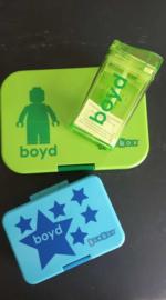 Stickers voor Boyd en Kars