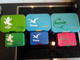Stickers voor Gijs, Teun en Sarah