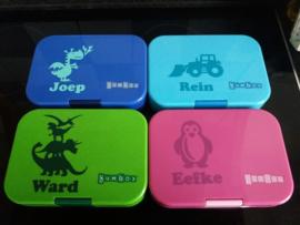 Verschillende stickers
