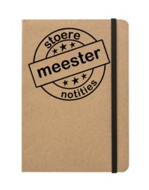 Stoere meester notities - notebook