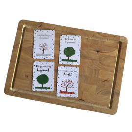 Schooljaar Mijlpaalkaarten - Broodtrommelkaartjes
