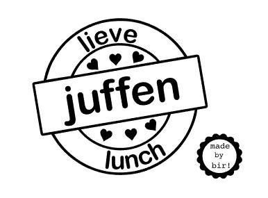 Lieve juffen lunch 10 cm breed
