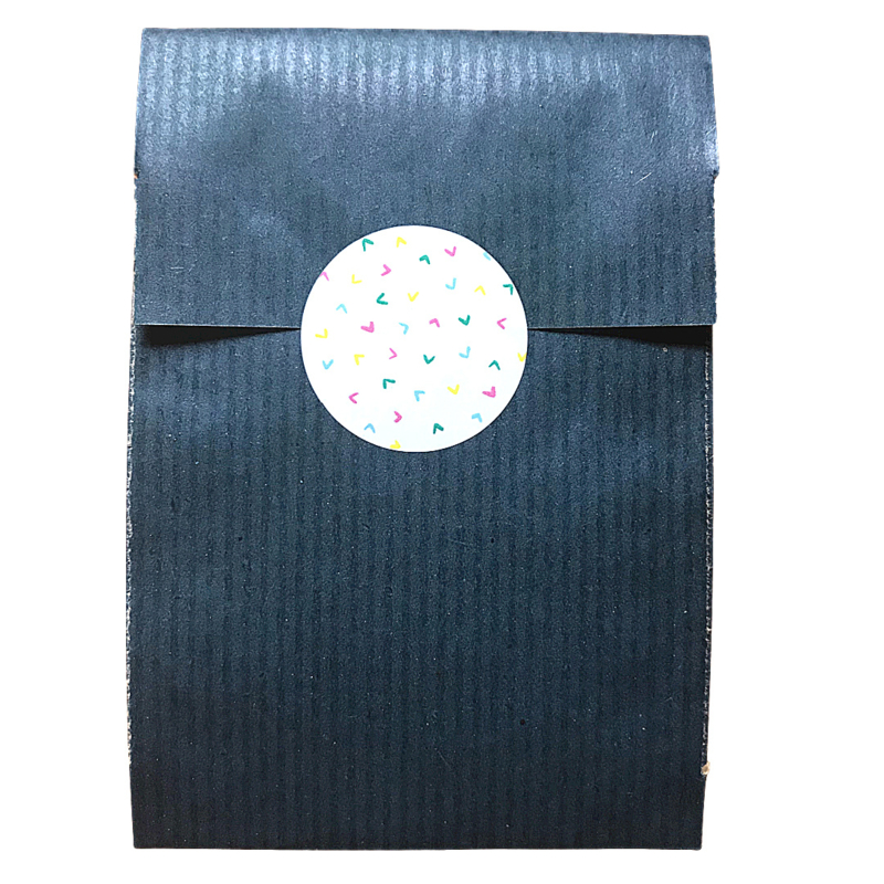 Confetti 1 - sticker rond 30 mm - set van 5